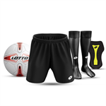 JNR STARTER PACK: Short, Socks, Shinpads & Ball - $80.00
