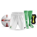 JNR STARTER PACK: Socks, Shorts, Shinpad, Ball - $80.00