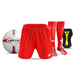 JNR STARTER PACK: Shorts, Socks, Shinpads & Ball - $80.00