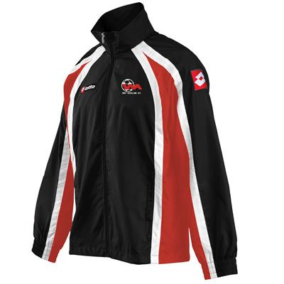 Jnr Jacket WA Black/Red/White