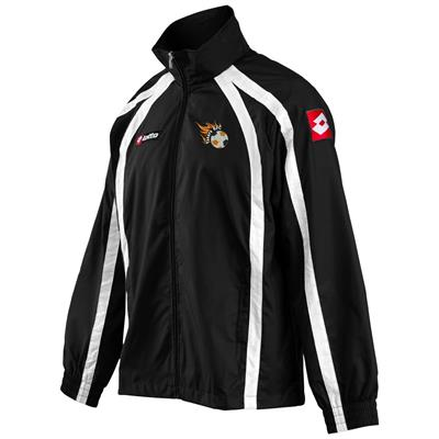 Jnr Wind Jacket Takaro Black/White