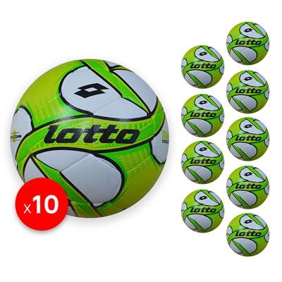 Futsal Iper sz 3 Bundle (10) Lime/Green/Black   3 (KFBB1021)