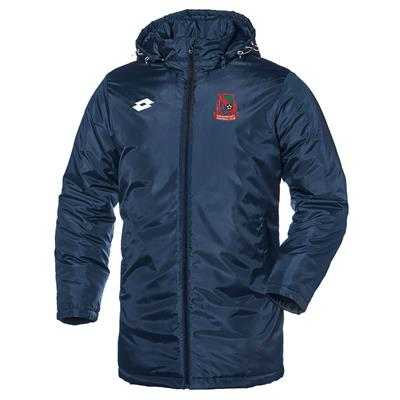 Club Managers Jacket PCFC Navy/White
