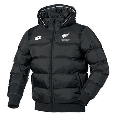 Jnr NZF Puffer Jacket Black