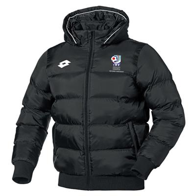 Jnr AFF Referee As. Puffer Jacket Black