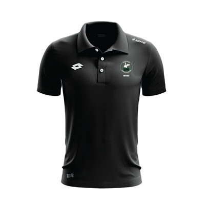Supporters Polo w Initials WSAFC Black