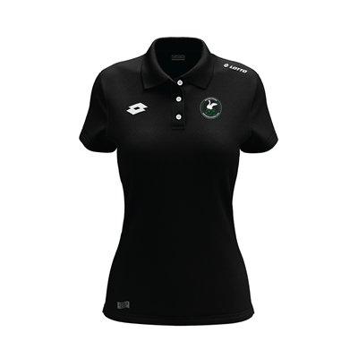 Womens Supporters Polo WSAFC Black