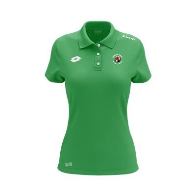 Womens Polo HCAFC Emerald