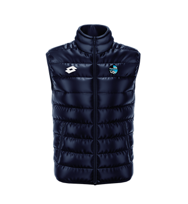 Padded Vest Taupo AFC Navy