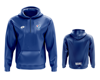Junior AFF Hoodie with Name Royal