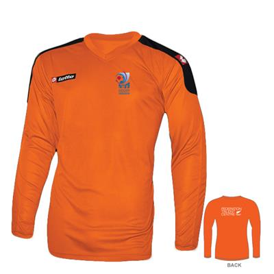 Junior LS Goalkeepers Shirt AFF Orange/Black  1