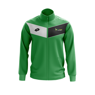 Jnr Skills Player Jacket Emerald/White