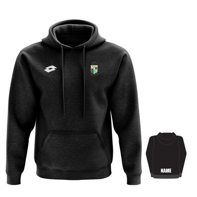 Jnr Supporters Hoodie w Name PNM Black