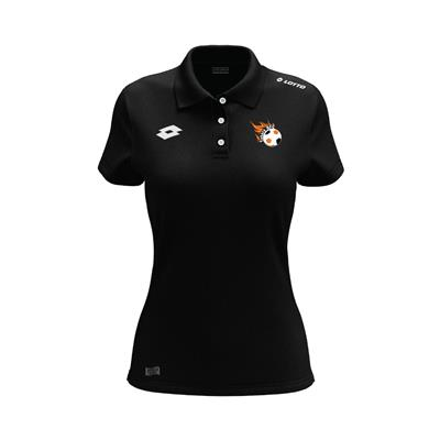 Womens L73 Polo Takaro Black