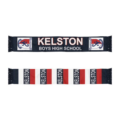 KBHS Uniform Scarf Navy/Red XXX (KB000)