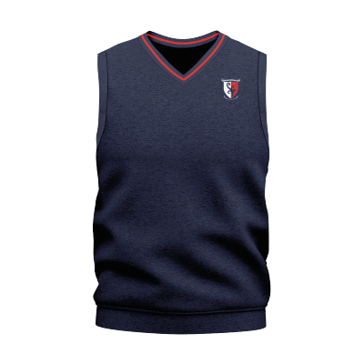KBHS Uniform Vest Navy/Red