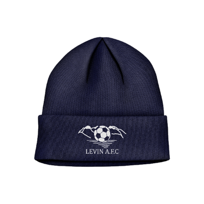 Club Beanie LVAFC Navy Each (KLVAFC011)