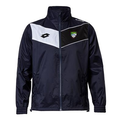 Jnr Club Jacket CT Navy/White