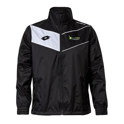 Jnr Player Jacket CFHB Black/White
