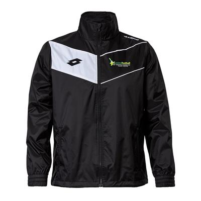 Jnr Player Jacket CFT Black/White