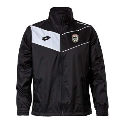Jnr Club Jacket BBU Black/White