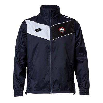 Jnr Club Jacket LAU Navy/White