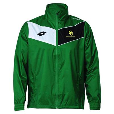 Club Jacket OUTD Emerald/White