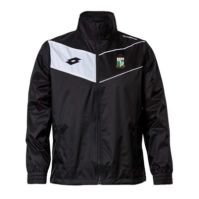 Jnr Club Wind Jacket PNM Black/White