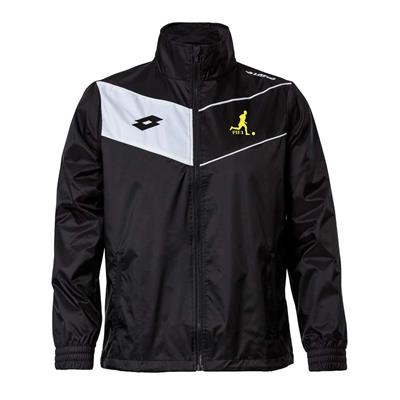 Jnr Academy Wind Jacket PIFA Black/White