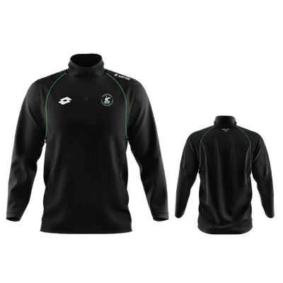 WSAFC Training Sweat Black/Emerald