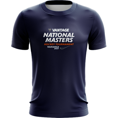 National Masters Portrait Tee Navy