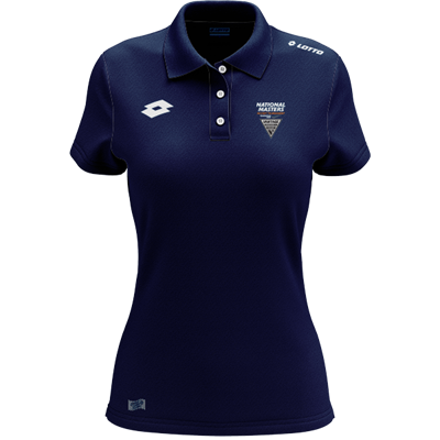National Masters Polo W Navy