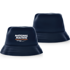 National Masters Bucket Hat Navy