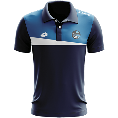 Taupo AFC Eclipse Polo W Navy/Royal